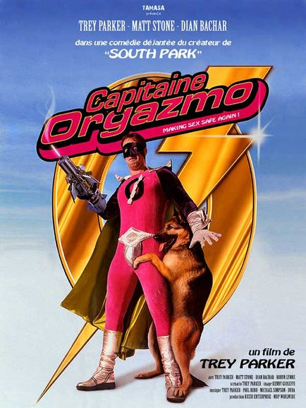 Captain Orgazmo affiche film
