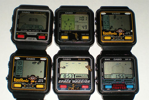 Casio-GAME-Watches