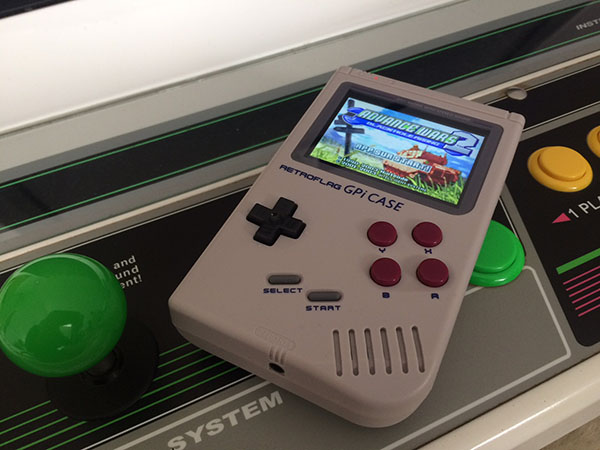 GPI CASE + Retropie