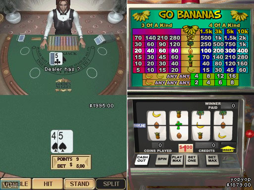 Golden Nugget Casino DS gameplay