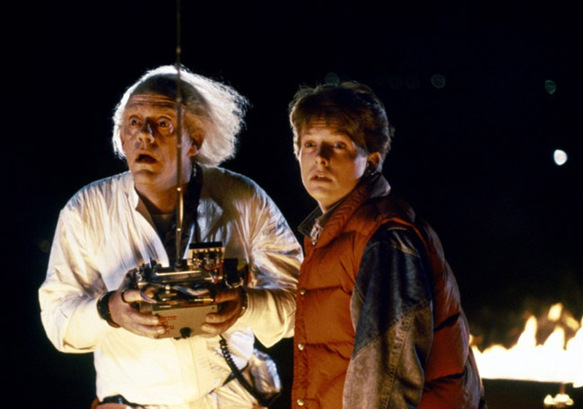 À quel film appartient cette image ? Michael-J-Fox-Christopher-Lloyd