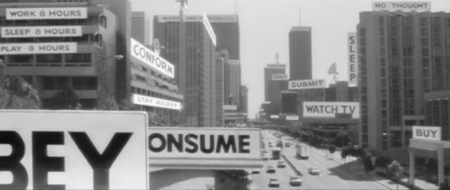 They Live - Pancartes
