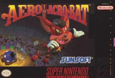 Aero The Acro-Bat - Box
