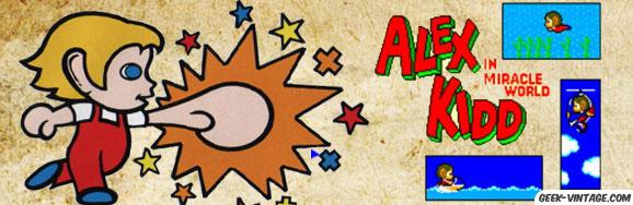 Alex Kidd, le jeu inclu dans la Master System