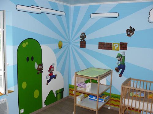 Une Chambre De Bebe Aux Couleurs De Mario Bros