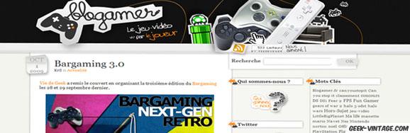 Blogamer, le jeu vidéo vu par le joueur