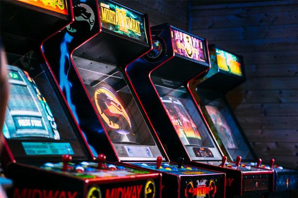 Borne d'arcade en entreprise