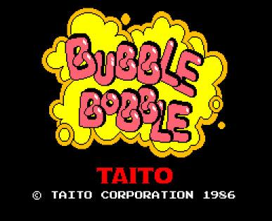 bubble bobble Taito