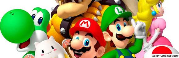 EDIT : Une chambre de bébé aux couleurs de Mario Bros + un faire part !