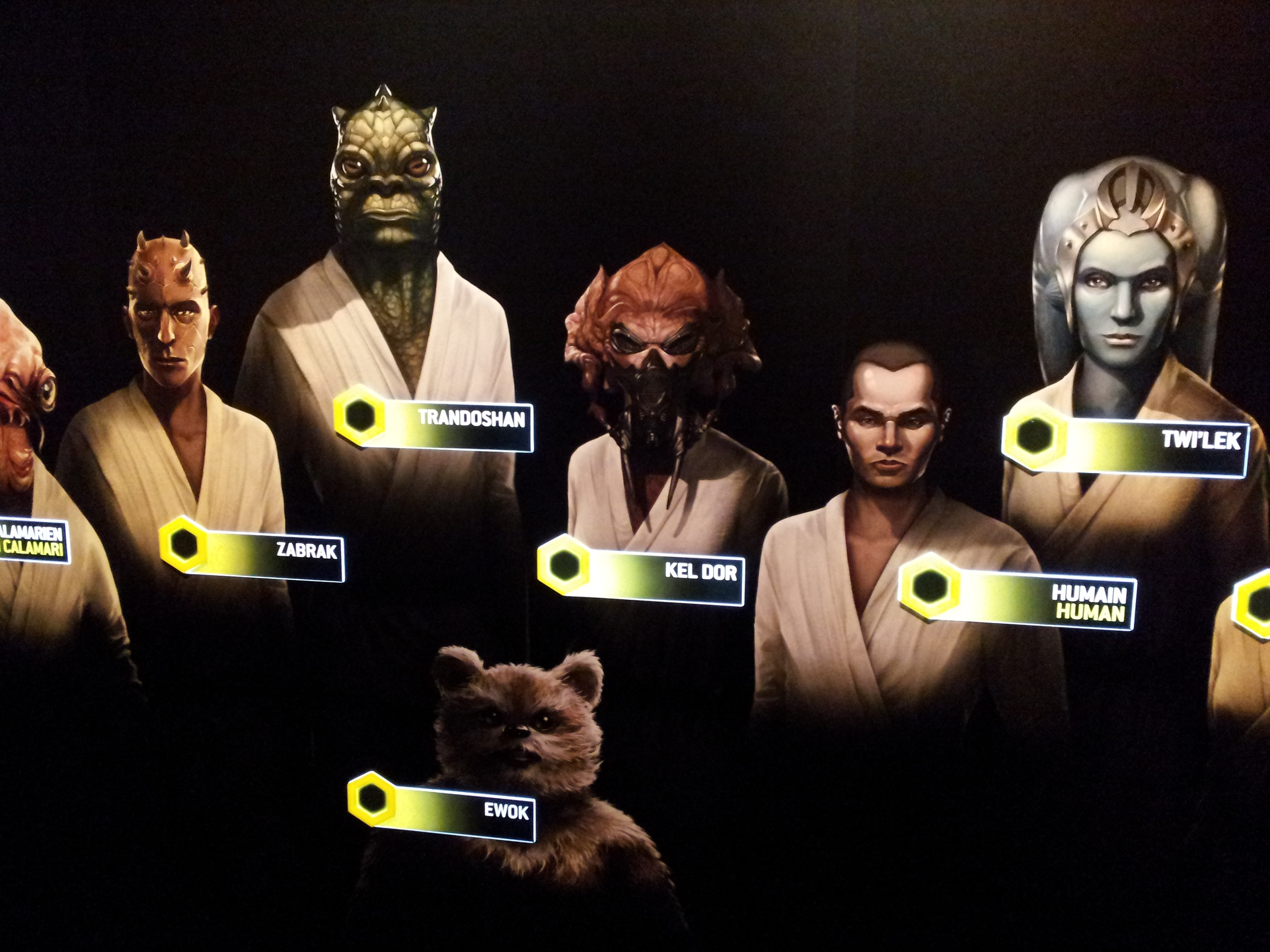 Avis sur star wars identit s l 39 exposition interactive - Personnage de starwars ...