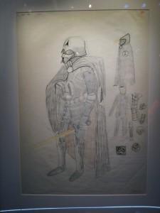 Concept art Dark Vador