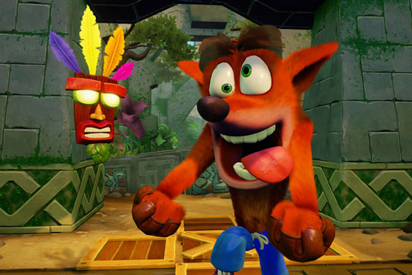 Crash Bandicoot remake