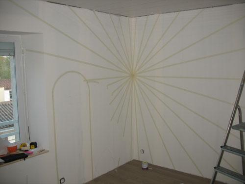 Une chambre de b b aux couleurs de mario bros for Technique pour peindre un mur