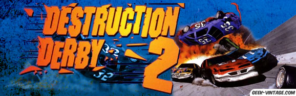 Destruction Derby 2, le jeu de stock car mythique !