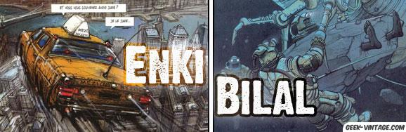 Enki Bilal, le dessinateur de BD fantastiques…