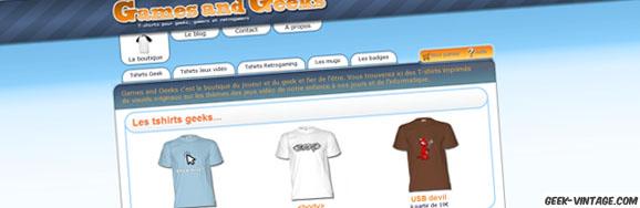 Games and Geeks : un site de référence pour tous les geeks !