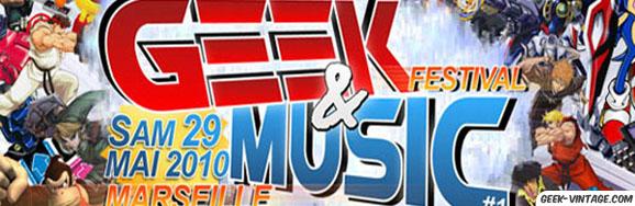 La convention/festival Geek & Music à ne pas rater les 29 et 30 mai prochain à Marseille