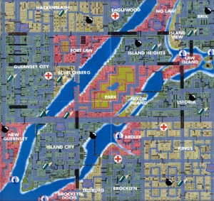 carte gta liberty city