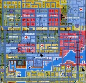 carte San Andreas (ville 3)