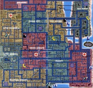 carte gta vice city