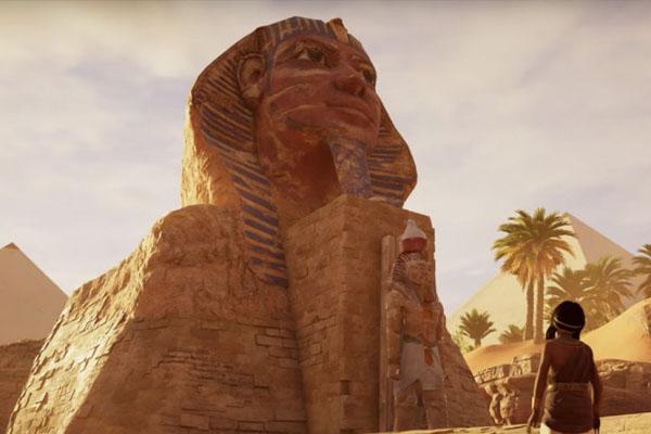 Jeux vidéo Egypte