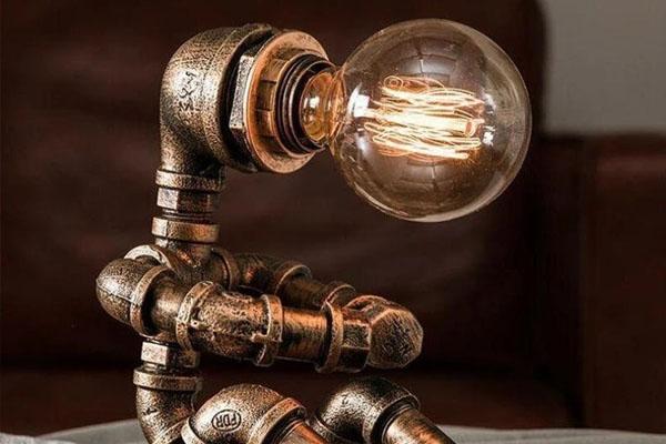 Lampe steampunk