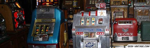 Les Machines à Sous De Collection, comment c'est classe !