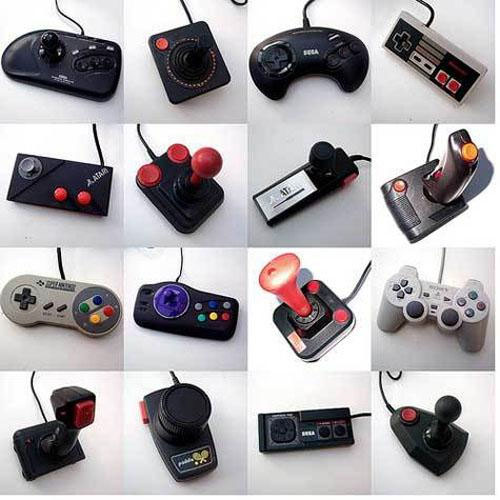 Manettes jeux vidéo
