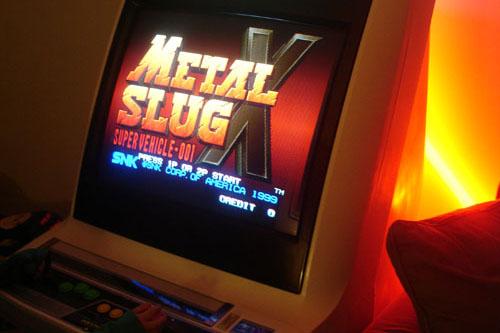Metal Slug borne d'arcade