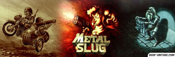 Avant le FPS, il y avait Metal Slug…