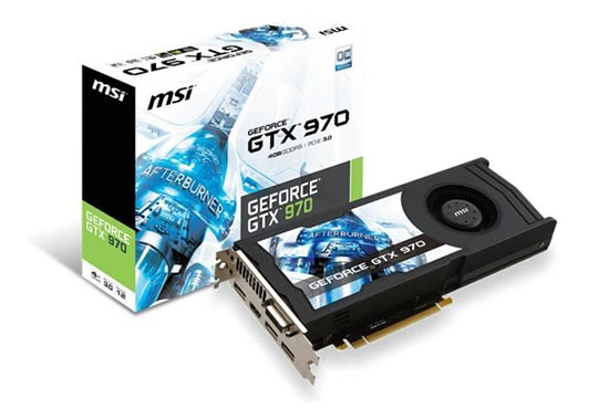GTX 970 Msi Afterburner