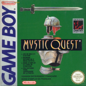 jaquette mystic quest FR
