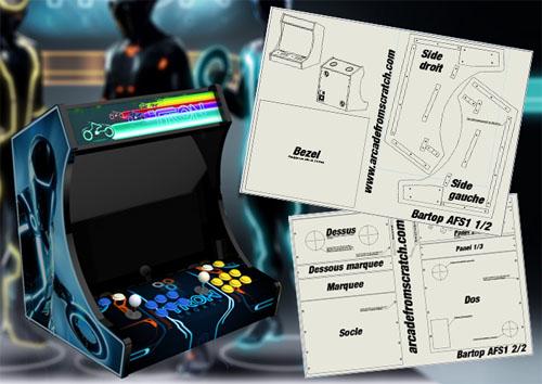 tutorial pour construire une borne d'arcade