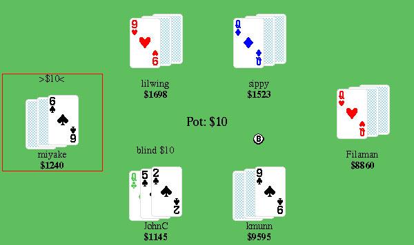 Poker vintage