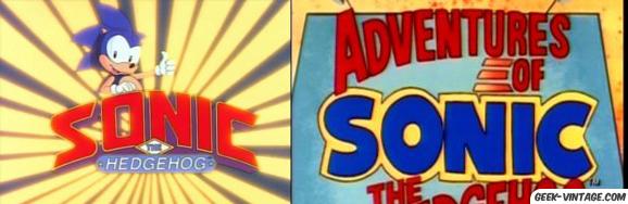 Sonic, les 2 séries animées