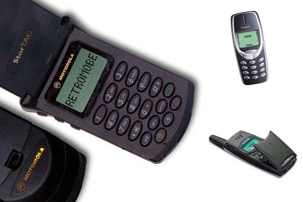 Téléphone portable vintage