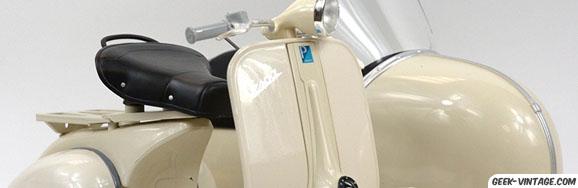 Les motos miniatures (parce que cela prend moins de place)