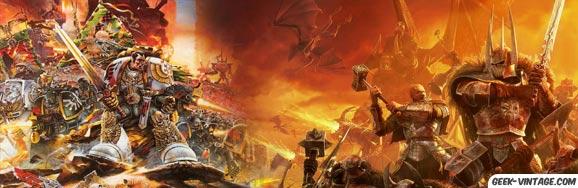 Les warhammers, le jeu des batailles fantastiques !